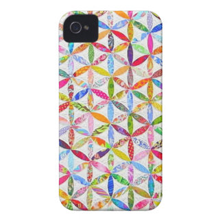 Daisy a Day Quilt iPhone 4 Case-Mate Case