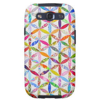 Daisy a Day Quilt Galaxy S3 Case