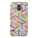 Daisy a Day Quilt Galaxy S5 Covers