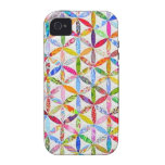 Daisy a Day Quilt iPhone 4 Covers