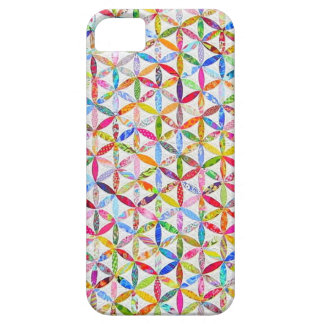 Daisy a Day Quilt iPhone SE/5/5s Case