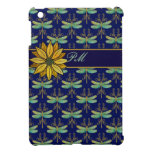Daisy and Art Nouveau Dragonflies iPad Mini Covers