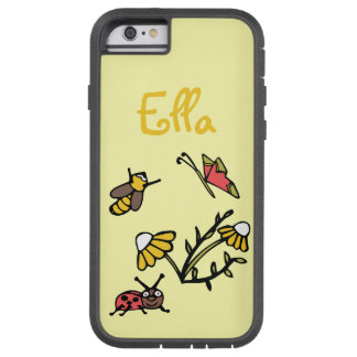 Daisy and Bugs Personalised iPhone 6 Case