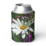Daisy and Fireweed Can Cooler
