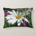 Daisy and Fireweed Decorative Pillow