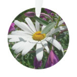 Daisy and Fireweed Ornament
