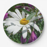 Daisy and Fireweed Paper Plate