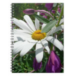 Daisy and Fireweed Spiral Notebook
