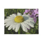 Daisy and Summer Lilac Doormat