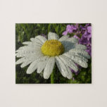 Daisy and Summer Lilac Jigsaw Puzzle