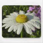 Daisy and Summer Lilac Mouse Pad