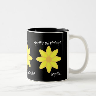 Daisy April's Mug-Customize Two-Tone Coffee Mug