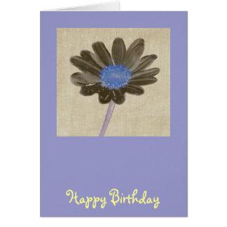 Daisy Birthday Card