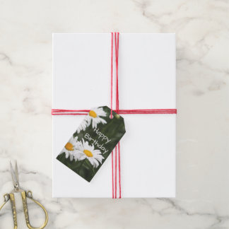 Daisy Birthday Gift Topper Gift Tags