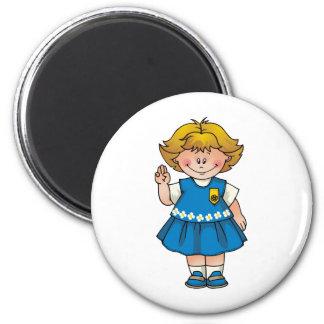 Daisy Blond Magnet