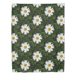 Daisy Bloom seamless pattern + your ideas Duvet Cover