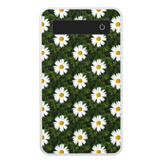 Daisy Bloom seamless pattern + your ideas Power Bank