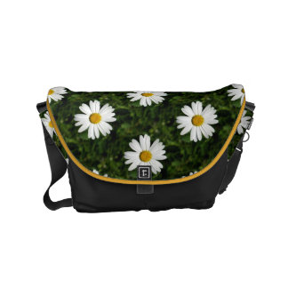 Daisy Bloom seamless pattern + your ideas Small Messenger Bag