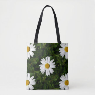 Daisy Bloom seamless pattern + your ideas Tote Bag