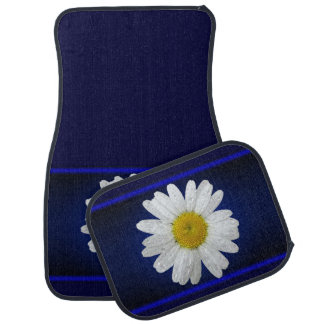 Daisy Blue Car Mats