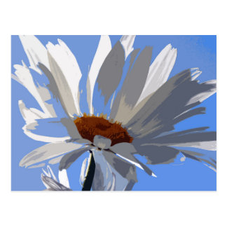 DAISY BLUE POSTCARD