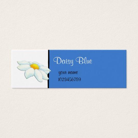 Daisy blue small Business Card