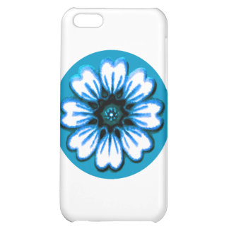 Daisy Blue The MUSEUM Zazzle Gifts iPhone 5C Cover
