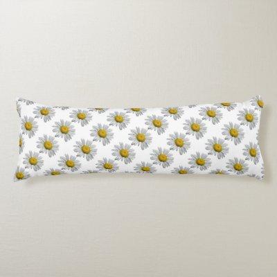 Daisy Body Pillow