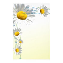 Daisy Border Stationery