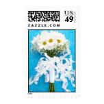 Daisy Bridal Bouquet Postage Stamps
