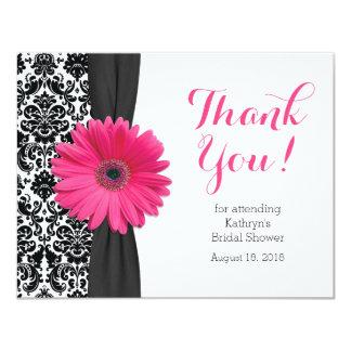 Daisy Bridal Shower Thank You Card | Damask Gerber
