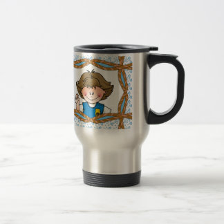 Daisy Brunette Travel Mug