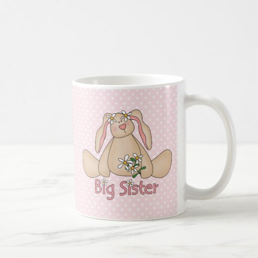 Daisy Bunny Big Sister Coffee Mug