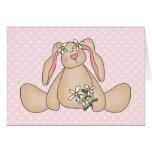 Daisy Bunny Greeting Cards