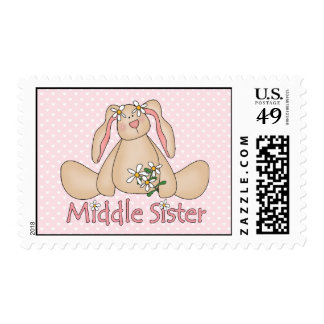 Daisy Bunny Middle Sister Stamp