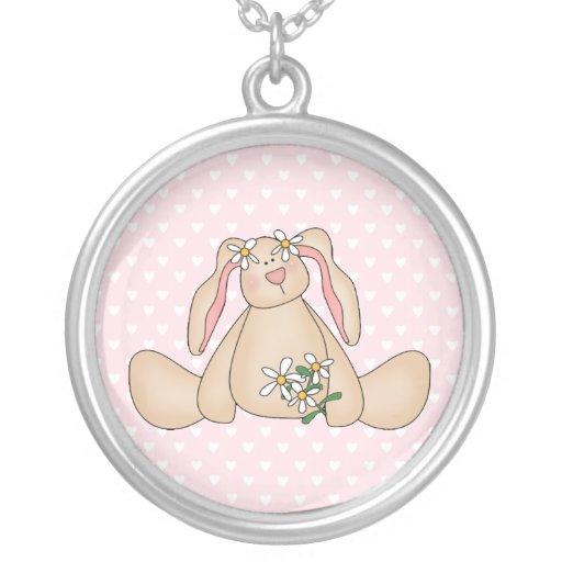 Daisy Bunny Pendant