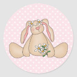 Daisy Bunny Stickers