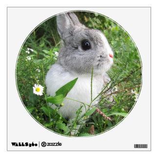 Daisy Bunny Wall Sticker