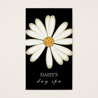 Daisy Business Card Black White