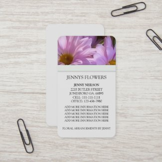 Daisy Business Cards