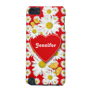 Daisy Butterfly Garden Valentine iPod Touch 5G Cases