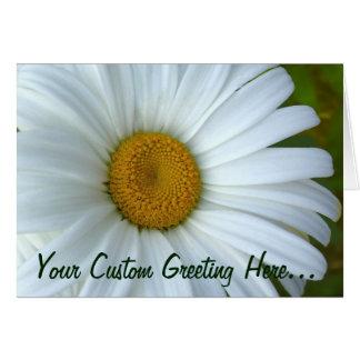 Daisy Card Wild Flowers Custom Greeting Cards