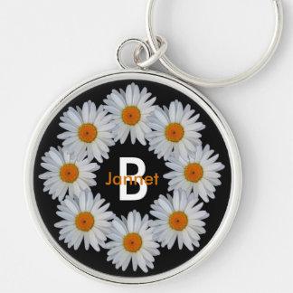 Daisy Chain Monogram Key Chain