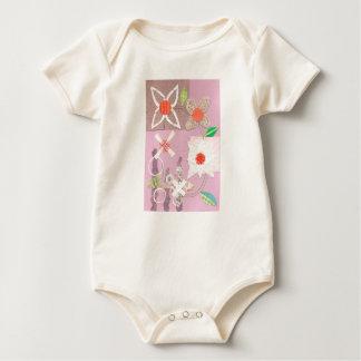 Daisy Chain Organic Babygro Baby Bodysuit