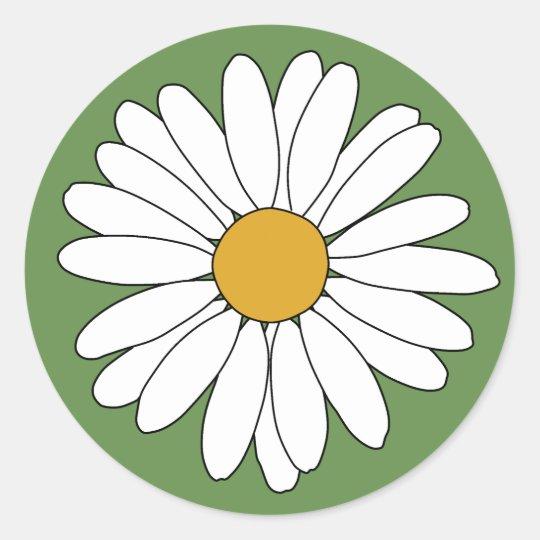 Daisy Classic Round Sticker
