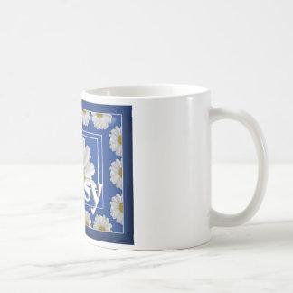 Daisy Classic White Coffee Mug