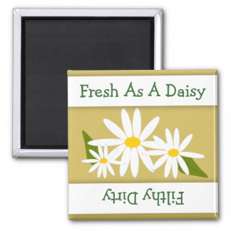 Daisy Clean Dirty Indicator Dishwasher Magnet