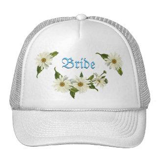 Daisy Cluster Bride's Cap Trucker Hat