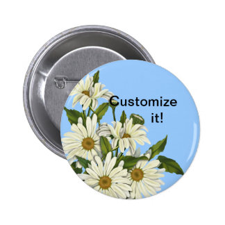 Daisy Cluster Pinback Button