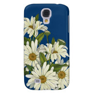Daisy Cluster Samsung Galaxy S4 Cover Floral Samsung Design Cases